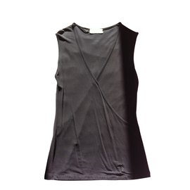 Yves Saint Laurent-Tops-Noir