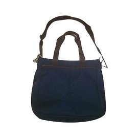 Louis Vuitton-Bags Briefcases-Blue