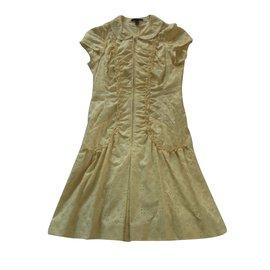 Louis Vuitton-Robes-Jaune