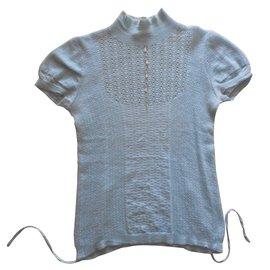 Louis Vuitton-Pulls, Gilets-Bleu