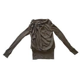 Louis Vuitton-Pulls, Gilets-Kaki