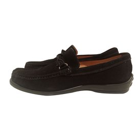 Jaime Mascaro-Loafers Slip ons-Black