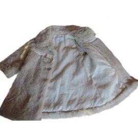 Tartine et Chocolat-Joli manteau-Blanc
