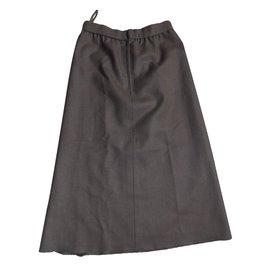 Chloé-Skirts-Khaki