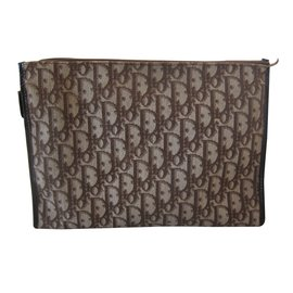 Christian Dior-Wallets Small accessories-Brown
