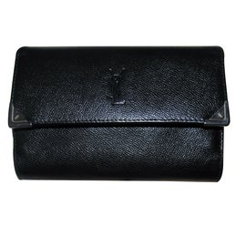 Yves Saint Laurent-Wallets Small accessories-Black