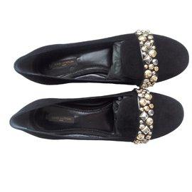 Louis Vuitton-PACT Flat Loafers 39.0-Noir