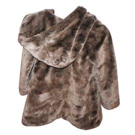 Autre Marque-Coats outerwear-Brown
