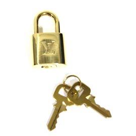 Louis Vuitton-Cadenas avec clés-Doré