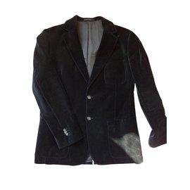 Sonia Rykiel-Blazers Jackets-Black