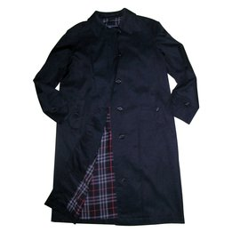Burberry-Trench coats-Blue