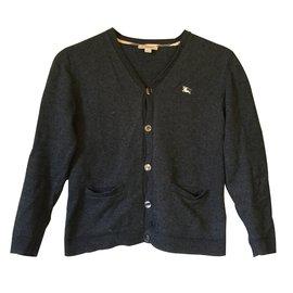 Burberry-Sweaters-Grey