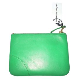 Comme Des Garcons-Wallets Small accessories-Green