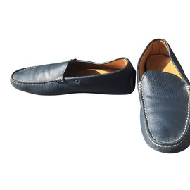 Tod's-Loafers Slip ons-Blue