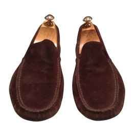 Tod's-Loafers Slip ons-Brown