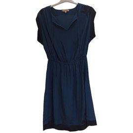 Bel Air-Robe d'été-Bleu