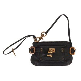 Chloé-Clutch bags-Black