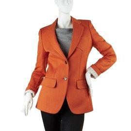 Chloé-Jackets-Orange