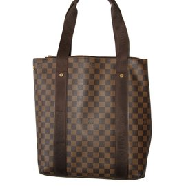 Louis Vuitton-Bags Briefcases-Ebony