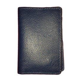 Louis Vuitton-Wallets Small accessories-Blue