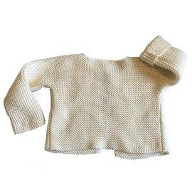 Petit Bateau-Sweaters-Cream