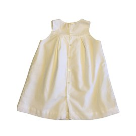 Jacadi-robe en velours-Blanc