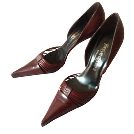 Yves Saint Laurent-St Laurent Rive Gauche sixties vintage-Marron