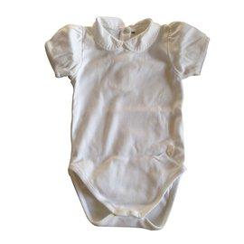 Baby Dior-Bodysuits-White