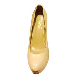 Yves Saint Laurent-Escarpins-Beige