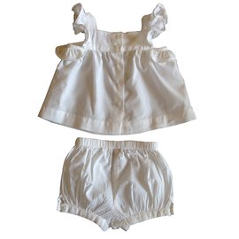 Stella Mc Cartney-Outfits-White