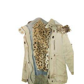 Ikks-Coats outerwear-Khaki