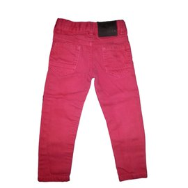 3pommes-Pantalon garçon-Rouge