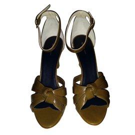 Céline-Sandals-Khaki