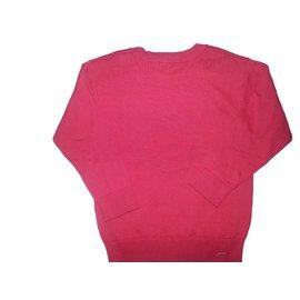 Jacadi-Pull rouge-Rouge