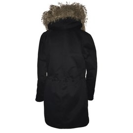 Yves Salomon-Coats, Outerwear-Black