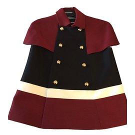 Dsquared2-Veste avec boutons d'officier-Multicolore