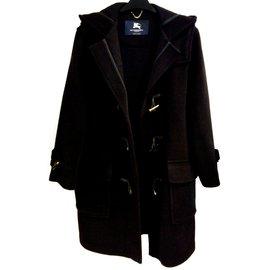 Burberry-Coats, Outerwear-Blue