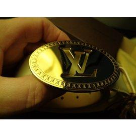 Louis Vuitton-Ceintures-Beige