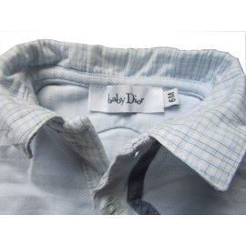 Baby Dior-Polo-Bleu