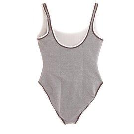 Chanel-Swimwear-Grey
