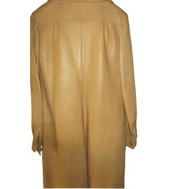 Hermès-Dresses-Yellow