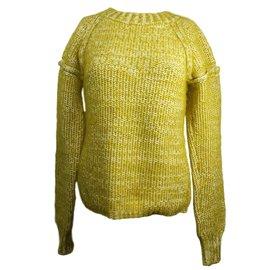 Chloé-Knitwear-Mustard