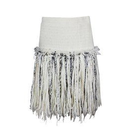 Chanel-Skirts-Cream