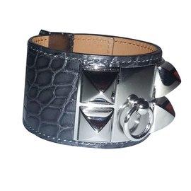 Hermès-Collier de Chien - CDC-Gris