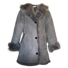 Christian Dior-Coats outerwear-Grey