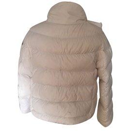 Moncler-Coats outerwear-White