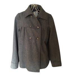 Petit Bateau-Coats outerwear-Grey