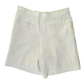Chanel-Shorts-Eggshell