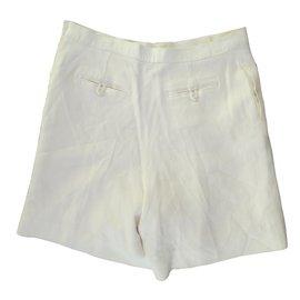 Chanel-Shorts-Blanc cassé