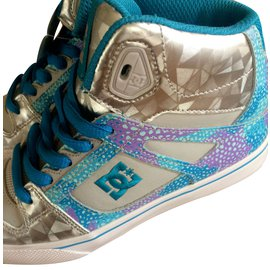Autre Marque-Sneakers-Silvery